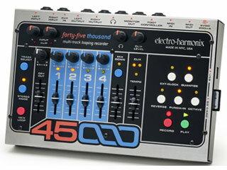 【nightsale】 【納期にお時間がかかります】 electro harmonix/エレクトロハーモニクス 45000 マルチトラック ルーピングレコーダー エフェクター 【国内正規品】