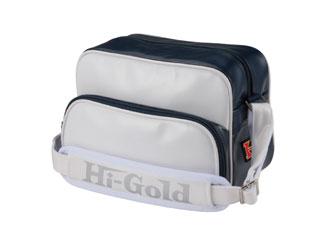 HI-GOLD/ハイゴールド HB-88 エナメルミニチュアショルダーバッグ 【7L】(ホワイト×ネイビー/パールエナメル)