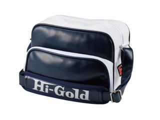 HI-GOLD/ハイゴールド HB-88 エナメルミニチュアショルダーバッグ 【7L】(ネイビー×ホワイト/パールエナメル)