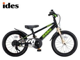 【nightsale】 ides/アイデス ディーバイクマスター16 キッズ自転車 【16インチ】 (ブラック) メーカー直送品のため【単品購入のみ】【クレジット決済のみ】 【北海道・沖縄・離島不可】【日時指定不可】商品になります。