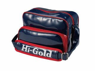 HI-GOLD/ハイゴールド HB-88 エナメルミニチュアショルダーバッグ 【7L】(ネイビー×レッド/エナメル)