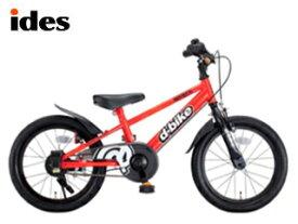 【nightsale】 ides/アイデス ディーバイクマスター16 キッズ自転車 【16インチ】 (レッド) メーカー直送品のため【単品購入のみ】【クレジット決済のみ】 【北海道・沖縄・離島不可】【日時指定不可】商品になります。