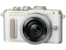 OLYMPUS オリンパス PEN E-PL8・14-42mm EZレンズキット(ホワイト) 【epl8】