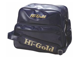 HI-GOLD/ハイゴールド HB-8800 エナメルショルダーバッグ ミディアムサイズ 【20L】(ネイビー)