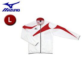 mizuno/ミズノ N2JC4001-01 トレーニングクロスシャツ 【L】 (ホワイト)