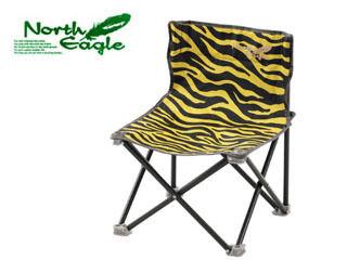 【メーカー在庫限り!】 NorthEagle/ノースイーグル NE2351 コンパクトチェアS (タイガー)