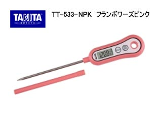 TANITA/タニタ TT-533-NPK 料理用スティック温度計(フランボワーズピンク)