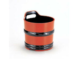 WAKAIZUMI/若泉漆器 桶ワインクーラー朱帯黒/1−827−9 【winecooler】【party】【シャンパン】【バケツ】