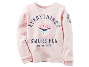 carters/カーターズ 【在庫処分】 12M ロングTシャツ EVERITHINGS ピンク 235G55912