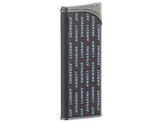 ※沖縄県へのお届けは不可となります。 KATHARINE HAMNETT/キャサリンハムネット KH080007 8型 電子ライター ラッカー黒