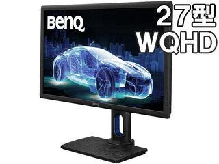 BenQ/ベンキュー IPSパネル採用 WQHD27型ワイド液晶ディスプレイ クリエイター/デザイナー向けモデル PD2700Q