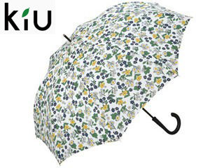 【nightsale】 kiu/キウ A-jmp umbrella 長傘 ジャンプ 【60cm】 (フローラオフ)