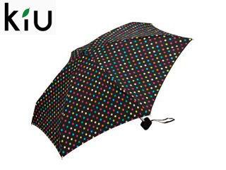 kiu/キウ Tiny umbrella 折りたたみ傘 手開き 【47cm】 (マーブルドット)