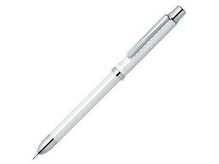 ZEBRA/ゼブラ スラリシャーボ2000 白 2色ボールペン0.7(黒・赤)+シャープ0.5 SB27-W