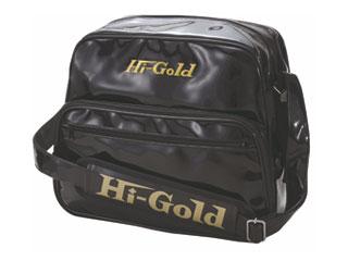 HI-GOLD/ハイゴールド HB-8800 エナメルショルダーバッグ ミディアムサイズ 【20L】(ブラック)