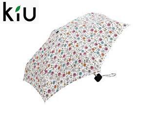 【nightsale】 kiu/キウ Tiny umbrella 折りたたみ傘 手開き 【47cm】 (グラフィティフラワー)