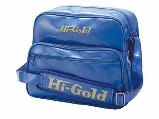 HI-GOLD/ハイゴールド HB-8800 エナメルショルダーバッグ ミディアムサイズ 【20L】(ブルー)