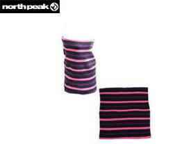 NORTH PEAK/ノースピーク NP-6216-SBK2 sapium 発熱ネックウォーマー[ピンク×パープル×ブラック] 【フリーサイズ】