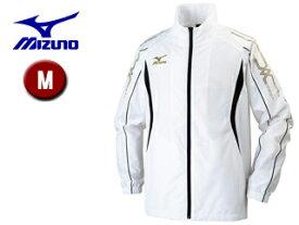 mizuno/ミズノ 32JE6010-01 ウインドブレーカーシャツ メンズ 【M】 (ホワイト)