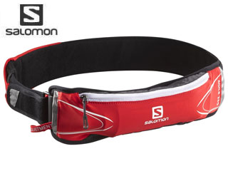 【nightsale】 SALOMON/サロモン L37578900 AGILE 250 BELT SET 【フリーサイズ】(BRIGHT RED/ASPHALT)