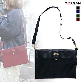 MORGAN/モルガン MOD01 レディース 2WAYショルダーバッグ (ブラック)