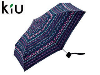 【nightsale】 kiu/キウ 【在庫限り】Tiny umbrella 折りたたみ傘 手開き 【47cm】 (デジタルアズテク)