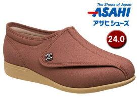 ASAHI/アサヒシューズ KS23141-RT 快歩主義 L011-5E (レンガストレッチ) 【24.0cm・5E】※片足(右足)販売の商品となります。