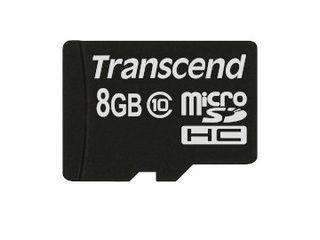 トランセンド・ジャパン 8GB マイクロSDHC CARD TS8GUSDC10 納期にお時間がかかる場合があります