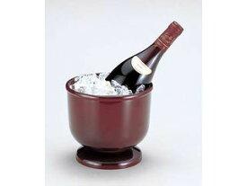 WAKAIZUMI/若泉漆器 足付ワインクーラー溜/1−827−15 【winecooler】【party】【シャンパン】【バケツ】