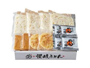 せい麺やの讃岐うどんきつね&天ぷら(4食セット) 2541−25c