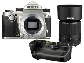 PENTAX/ペンタックス KPボディキット(シルバー)+D-BG7 バッテリーグリップ+DA 55-300mmF4.5-6.3レンズセット【kpset】