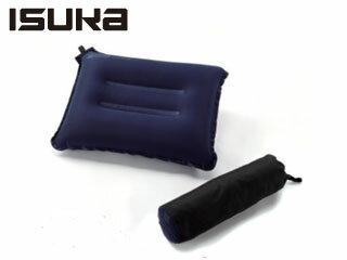 ISUKA/イスカ 208421-NVY コージーキャンプピロー ノンスリップ (ネイビーブルー)
