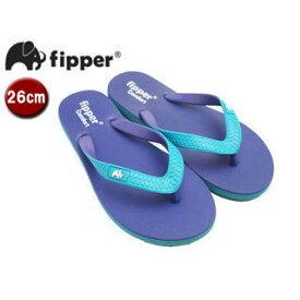 fipper/フィッパー FJ02-C13 ビーチサンダル コンフォートタイプ 【26cm(UK07)】(パープル・ターコイズ/ターコイズ・パープル)