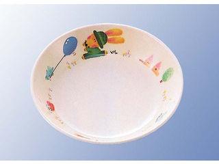 KOKUSAI KAKO/国際化工 メラミン子供食器 スイートラビット 深菜皿 D17SR