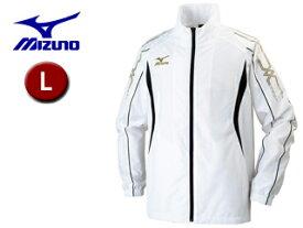 mizuno/ミズノ 32JE6010-01 ウインドブレーカーシャツ メンズ 【L】 (ホワイト)