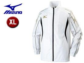 mizuno/ミズノ 32JE6010-01 ウインドブレーカーシャツ メンズ 【XL】 (ホワイト)