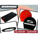 【nightsale】 DONIC/ドニック 【ラバーウォーマーSET】Rubber Warmer + Warmer Belt + POWER ADDX7 20...
