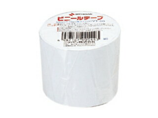 NICHIBAN/ニチバン ビニールテープ 50mm 白 VT-505 幅50mm×長10m