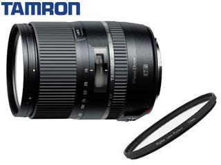 【納期にお時間がかかります】 TAMRON/タムロン 16-300mm F/3.5-6.3 Di II VC PZD MACRO (Model B016) キヤノン用とレンズフィルターセット【ta16300set】