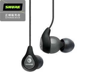 SHURE/シュアー SE112-GR 高遮音性イヤホン(グレー)キャリングポーチ付き! (SE112GR)【SHUREYP】【新品】