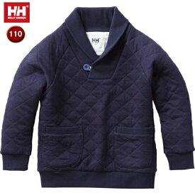 HELLY HANSEN/ヘリーハンセン 【在庫限り】HJ31650-HB QLT SHAWL COLLAR キッズ 【110】(ヘリーブルー)