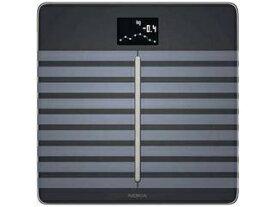 Withings ウィジングズ WBS04-BLACK-ALL-Asia 体組成計 Body Cardio ブラック [スマホ管理機能あり] ・スマート体重計/IoT体重計 ・Wi-Fi体組成計