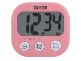 TANITA/タニタ TD-384-PK でか見えタイマー(フランボワーズピンク)