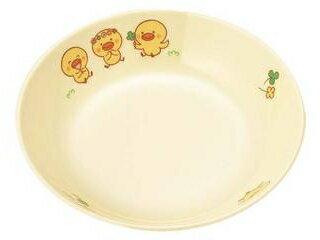 メラミン子供食器ひよこぐみ深菜皿D17HI