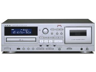 【あす楽対象品】TEAC/ティアック AD-850-S(シルバー) カセットデッキ/CDプレーヤー