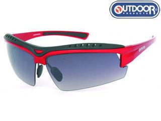 OUTDOOR PRODUCTS/アウトドアプロダクツ ODP4014-2-RED アウトドアグラス (フレームカラー:レッド)