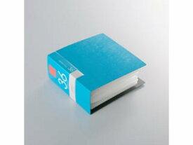 BUFFALO/バッファロー BSCD01F36BL CD&DVDファイルケース ブックタイプ 36枚収納 ブルー