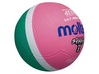 SLD1MPライトドッジ(ピンク×グリーン)【軽量1号球】