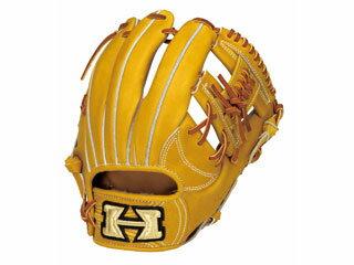 【nightsale】 HI-GOLD/ハイゴールド KKG-1144 二塁手・遊撃手用硬式グラブ 心極和牛 (ライトタン×タン) 【右投げ用】