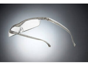 Hazuki Company/ハズキ 【Hazuki/ハズキルーペ】メガネ型拡大鏡 クール 1.6倍 チタンカラー 改良版 【ムラウチドットコムはハズキルーペ正規販売店です】